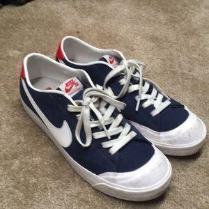 Nike air zoom retro skate shoes